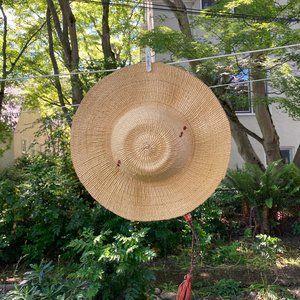 Accessories - Woven straw sun hat